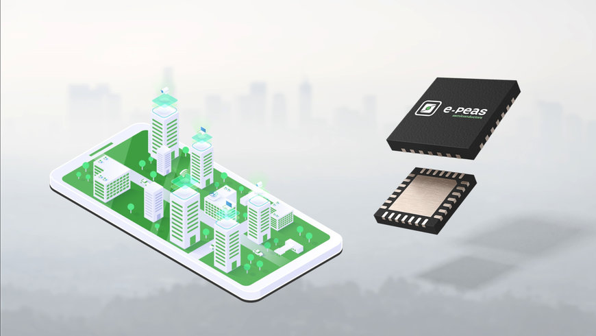 E-PEAS Power Management ICs Designed into Air Pollution Monitoring Hardware